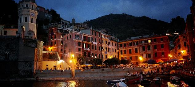 Une soirée dans les Cinque Terre